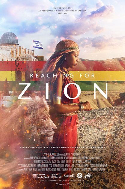 Reaching for Zion Poster
